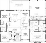 Old Wesley 4437 - 3 Bedrooms and 2 Baths | The House Designers