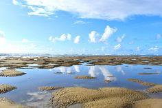 Beach Photo Beach Art Reflection Photo by LDTwedePhotography