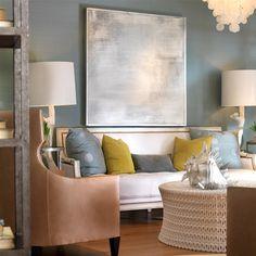 Pipa Cocktail Table available @ CoachBarn.com has row upon row of pierced resin creating a modern lace look. #coachbarn #livingroomfurniture #design