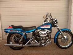 1972 Harley Davidson Super glide Shovel Head fx nightrain boatail