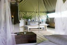 Glamping in the South of France