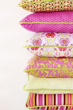 Bright pillows