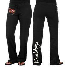 adidas Mississippi State Bulldogs Ladies Black Off Balance Fleece Pants  @Fanatics ®  #FanaticsWishList