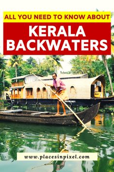Backwaters: All You Need to Know The backwaters are the USP for Kerala (India). In this article you will find all the information you need to plan a wonderful trip to Kerala Backwaters. Kerala Travel, India Travel Guide, Kerala India, Delhi India, Kerala Backwaters, China Travel, Vietnam Travel, Plan Your Trip, Places To Travel