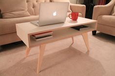 Coffee Table by BlockAndPlane on Etsy