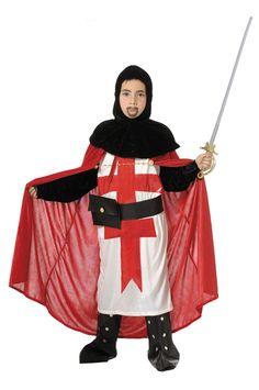 Disfraz de #cruzado #medieval para niño