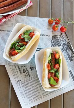 Gourmet Hot Dog Recipes | Bruschetta Hot Dog Topping | Thoughtfully Simple