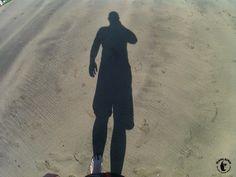 Tauchen Lanzarote - Playa Chica - Ein Selfie vom Schatten - Ein Schalfie?