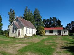 St James Church at Sheffield for sale. Built 1910. At Wrights Rd, Sheffield, Canterbury, New Zealand.