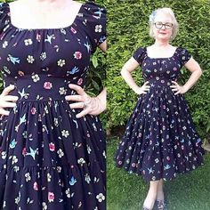 ac3ffdb0d2f Charm Patterns by Gertie   Rita Blouse into tiered dress mod