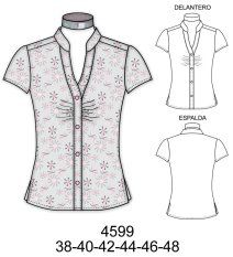 mens shirt refashion, take in arms and torso, gather front