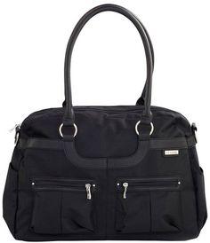 JJ Cole Satchel Diaper Bag - Onyx  #DiaperscomNursery