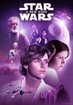 Luke Skywalker begins a journey that will change the galaxy in Star Wars: Episode IV - A New Hope. Nineteen years after the formation of the Empire, Luke is thrust into the struggle of the Rebel Alliance when he meets Obi-Wan Kenobi, who has lived. Images Star Wars, Star Wars Pictures, Mark Hamill, Carrie Fisher, Disney Star Wars, Star Wars Poster, Star Wars Art, Star Trek, Star Wars Online