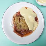 Lorraine Pascale | rhubarb and ginger crumble