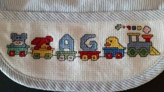 Baby Cross Stitch Patterns, Cross Stitch Baby, Baby Disney, Hand Embroidery, New Baby Products, Baby Shower, Sewing, Crochet, Handmade Gifts