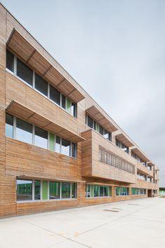 ©11h45 / Bâtiments logistiques et bureaux de la Base 105, Evreux (27) - JB Lacoudre Architecture