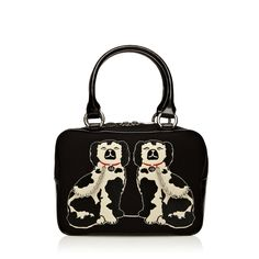 Staffordshire Mutts......Two of a Kind, Lulu Guinness