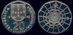 20 Escudos - Cupro Níquel, 1986