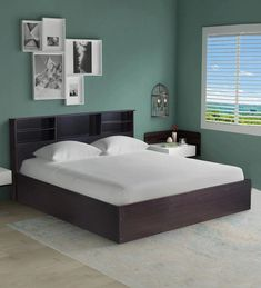 39b1c055365015 King Size Bed: Buy King Size Beds With Storage Online at Best Price in India