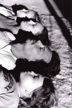 Johnny Depp, Vanessa Paradis et leurs enfants Jack et Melody Rose