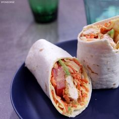 Go for a gourmet meal with these coleslaw chicken wraps! Chicken Wraps, Chicken Wrap Recipes, Coleslaw, Gourmet Recipes, Cooking Recipes, Healthy Recipes, Healthy Wraps, Breakfast Smoothies For Weight Loss, Food Porn