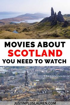 These are the top 25 movies about Scotland that you need to watch! These films will inspire you to travel to Scotland, as well as tell stories about Scotland's history and culture. Movies about Scotland Period Drama Movies, Scotland History, Travel Movies, Good Movies To Watch, Scotland Travel, Scotland Trip, Netflix Movies, Roadtrip, Outlander