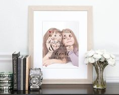 the cutest personalized custom gift for grandma for her birthday or christmas! custom gift for mom, custom gift for grandma
