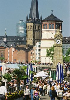 #Düsseldorf, #Germany - my mom lived there as a girl, while her father (my Opa) was Chief of Police.
