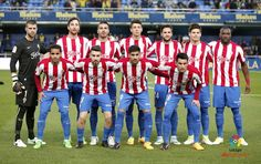 Equipos de fútbol: SPORTING DE GIJÓN contra Villarreal 28/04/2017