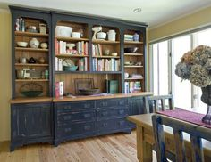 Asian-inspired custommade.com distressed finish hutch -- love it --