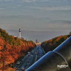 """Berlin from """"Angel tower""""  www.kleshaproduction.com"""