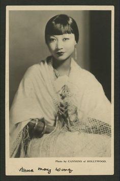 Anna May Wong Postcard