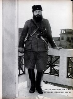 """Ares"" Velouhiotis, was a leader of the Greek Resistance movement during WW2."