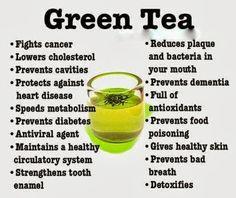 ~Health Benefits Of Green Tea~