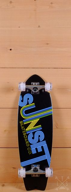 "Sunset Prebuilt 31"" Studio 54 Skateboard"