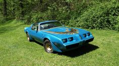 1980 Pontiac Trans Am Blue Gold Special Edition