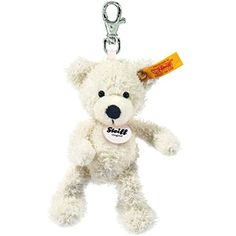 Steiff Keyring Lotte Teddy Bear White * Click on the image for additional details. (This is an affiliate link) #GrownUpToys