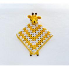 Giraffe Security Blanket Crochet Pattern