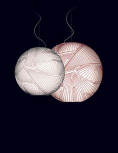 Inspired by a NASA commissioned study on intelligent clothing for astronauts, the Foscarini planet suspension light has defeated the challenge of creating a lamp with no inner structure.