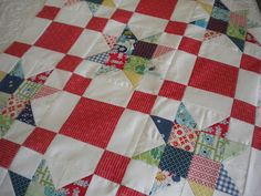 A Quilting Life: little table topper
