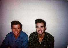 Rick Astley makes Morrissey smile. Your argument is invalid!! :::taken backstage at Top of the Pops 1989:::