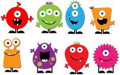 desenhos de monstrinhos fofos - Pesquisa Google