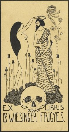 Ex Libris    Illustration by Aubrey Beardsley