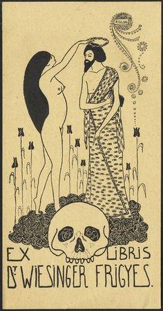 Ex Libris  Illustration by Aubrey Beardsley