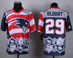 440875a3 Nike Patriots 29 LeGarrette Blount Navy Blue Men Stitched NFL Elite Noble  Fashion jersey Patriots 80