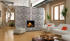Valpaint 'White tiger' wandafwerking uit de 'Jungle' lijn. Een gave en stoere print waarmee u 'Wild life' in huis haalt!