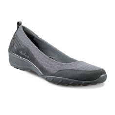 Skechers Relaxed Fit Savvy-Radiant Women's Slip-On Shoes, Girl's, Size: 8.5, Dark Grey