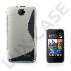 Lagerlöf (Transparent) HTC Desire 310 Cover Electronics, Phone, Cover, Telephone, Phones, Mobile Phones, Consumer Electronics