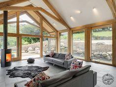 Green Oak Extension Shortlisted for Build It Awards - Frame by Carpenter Oak Ltd