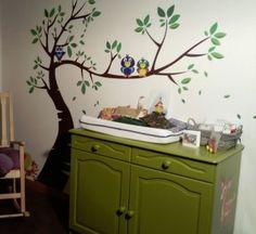 boom schilderen baby kamer - google zoeken   raam verven, Deco ideeën